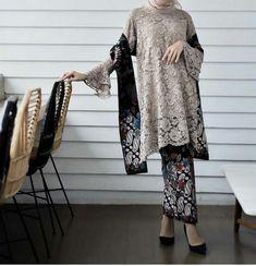 30 New Ideas For Dress Hijab Wedding Abayas Kebaya Lace, Kebaya Hijab, Batik Kebaya, Kebaya Dress, Kebaya Muslim, Muslim Dress, Batik Dress, Hijab Dress, Traditional Fashion