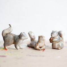 Le Sociable Squirrel Totem - le animalé