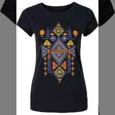 Monte Looks Incríveis   Blusa estampada preta manga curta com decote redondo  COMPRE AQUI!  http://imaginariodamulher.com.br/look/?go=2iqShIK  #comprinhas #modafeminina#modafashion  #tendencia #modaonline #moda #instamoda #lookfashion #blogdemoda #imaginariodamulher