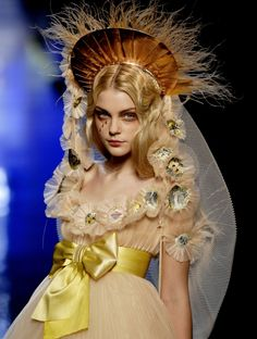 Spring 2007 Fashion Collection by Jean-Paul Gaultier. Jessica Stam.