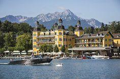 Schlosshotel Velden Falkensteiner - Seespitz | Fotograf: Martin Steinthaler - tinefoto.com | Credit:FMTG | Mehr Informationen und Bilddownload in voller Auflösung: http://www.ots.at/presseaussendung/OBS_20120910_OBS0001