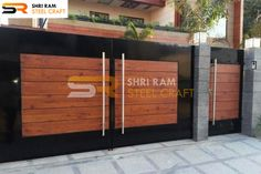 Shri Ram Steel Craft manufacturers of Wrought Iron Main Gates, Modern Iron Gates Design for home with beautiful designs at best prices in Delhi/NCR , Faridabad, India. Modern Iron Gate Designs, Iron Main Gate Design, Gate Wall Design, Wrought Iron Gate Designs, House Main Gates Design, Front Wall Design, Steel Gate Design, Door Design, House Design