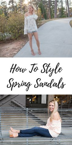 How to style spring sandals - 3 ways with Marc Fisher Footwear // spring style ideas // fashion trends