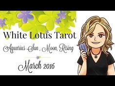 AQUARIUS free Psychic Tarot Card Reading Intuitive Life Coaching March 2016 - YouTube