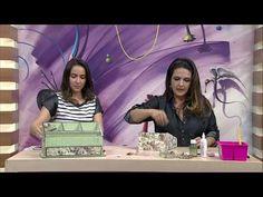 Caixa de Maquiagem por Marisa Magalhães - 16/06/2017 - Mulher.com - P2/2 - YouTube