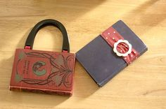 book purse tutorial--I AM going to do this.