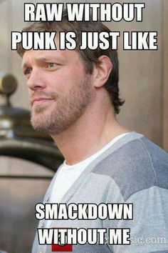 So true.! We miss edge and punk wwe=we want edge