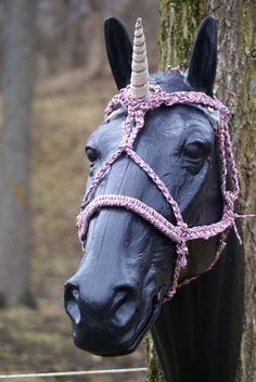 Hungarian bridle anastasz 10133 equine tack spanish pink camo pony sized unicorn halter not for sale by the corded carousel unicorns fandeluxe Gallery