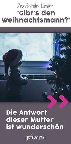 """""""Mom, are you Santa Claus?"""" This mother's answer """"Mama, bist du der Weihnachtsmann?"""" Die Antwort dieser Mutter ist wunderschön This is probably the sweetest way to tell a child that Santa doesn't exist. Christmas Crafts For Toddlers, Toddler Crafts, Kids Christmas, Parenting Advice, Kids And Parenting, Pop Sicle, Parent Tattoos, Divorce Process, Kids Corner"""