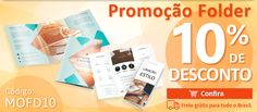 #GraficaOnline: #Promocao #Folder com 10% de desconto. Utilize o cupom de desconto MOFD10. Compre Agora:https://www.lojagraficaeskenazi.com.br/product/impressao-de-folder?utm_source=Pinterest&utm_medium=post&utm_campaign=Folder%2010%25