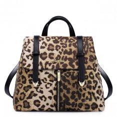 db6b63b5cae9b Stylowy torebko-plecak Leopard Styl Preppy, Moda Damska, Backpacks, Zakupy,  Torebki