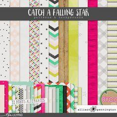 Catch a Falling Star: Patterns & Backgrounds
