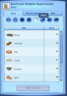 Mod The Sims - Cooking and Ingredients Overhaul + More Nectar Ingredients