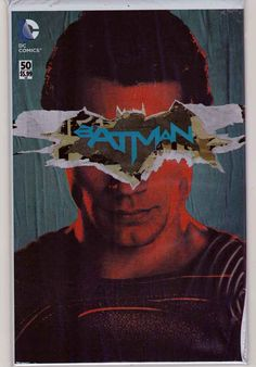 Batman #50 Variant Jim Lee Batman v Superman Dawn Of Justice Cover With Polybag / Scott Snyder Story. Greg Capullo Pencils.