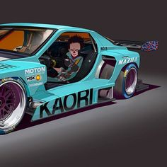 Street Racing Cars, Car Illustration, Futuristic Cars, Car Sketch, Unique Cars, Car Drawings, Automotive Art, Classic Trucks, Sport Cars