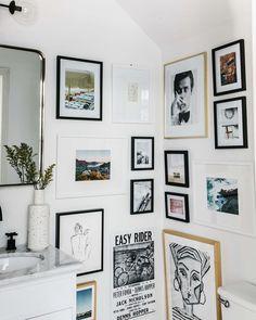 Easy Rider, Jack Nicholson, Tiny Bathrooms, Painting Trim, Living Room White, Under Stairs, Dream Decor, Fine Art Prints, Wall Decor