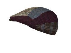 premium cashmere flat cap made by Alfonso d'Este, Napoli