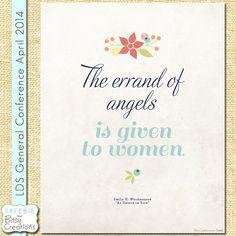 The Errand of Angels Printable Freebie