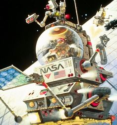 Space illustration by Robert McCall (1919-2010).