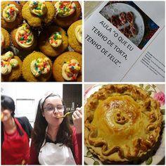 """Vem aprender as técnicas da nossas Tortas, na Aula """"O que eu tenho de Torta, Tenho de Feliz """". Faremos: Barquetes com Antepasto de Berinjela, Torta de Estrogonofe de Cogumelo e Cupcake de Cenoura com Cobertura de Cream Cheese. Inscrições abertas: donamanteiga@donamanteiga.com.br ou Whatt (11) 9 9458-1069. #auladetortas #pizzato 🌱🐔🐄🍫🍰 @donamanteiga #donamanteiga #danusapenna #amanteigadas #gastronomia #food #bolos #tortas www.donamanteiga.com.br"""