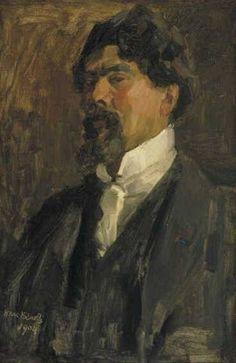 Collectie Boijmans Online Portret van Jan Toorop Isaac Israëls, 1904