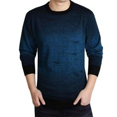 Casual Brand knitted Sweater Men christmas slim knitwear winter male polo sweter O-Neck patterns pullover sweaters pull homme Mens Fashion Sweaters, Sweater Fashion, Men's Fashion, Fashion 2018, Fashion Ideas, Cashmere Sweater Men, Men Sweater, Cashmere Wool, Wool Sweaters