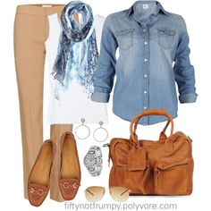 """Out and About"" by fiftynotfrumpy on Polyvore"