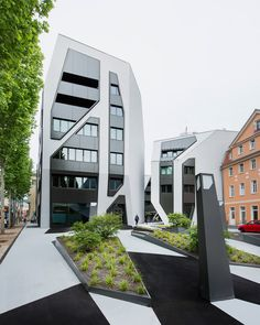 jurgen mayer h sonnenhof office residential complex jena germany designboom