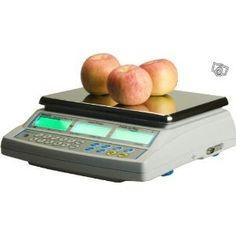 PROMOTION - Balance poids-prix pour vente commerce marché avec vignette verte d'homologation 30kg x 10g