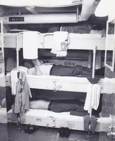 Ever wonder what it was like in berthing on a Navy Ship here you go. These guys here would be in some big trouble; laying in there racks in uniform is a big No No! Navy Military, Military Photos, Military Life, Military Humor, Navy Day, Go Navy, Subic Bay, Navy Wallpaper, Royal Australian Navy