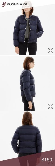 penfield® appleby down jacket Madewell PRODUCT DETAILS Massachusetts-based Penfield has been churning out top-notch, weather-resistant outerwear—coveted by fans of heritage-style clothing and outdoor enthusiasts alike—since 1975. This superwarm and light down jacket in ripstop nylon is perfect for woodsy walks (and urban strolls too).    True to size. Down-filled nylon. Dry clean. Madewell Jackets & Coats Puffers