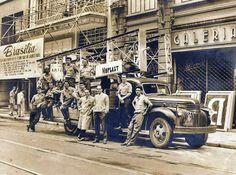 Década de 50 - Rua Barão de Itapetininga.
