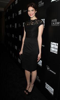 Mandy Moore #black #dress