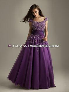 Sexy Purple Modest Prom Dress Style(6328)_Modest Prom Dress_Prom & Evenings_MoonLightDress.com
