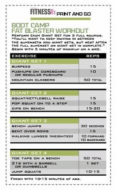 Boot Camp Workout fitness sexy-abs fitness.