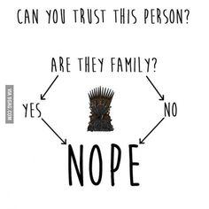 trust issues #GameofThrones