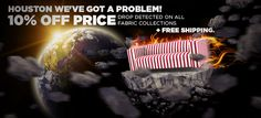 HOUSTON WE'VE GOT A PROBLEM! 10% PRICE DROP DETECTED ON ALL FABRIC COLLETIONS + FREE SHIPPING!  How to get this discount?  1. Like our Facebook profile at http://www.facebook.com/coversofa;  2. Use the following discount coupon code during the checkout: HOUSTON105  3. Be quick. Very limited time and quantity offer.   CoverCouch. Your source for personalized IKEA replacement covers. Give your IKEA a twist!