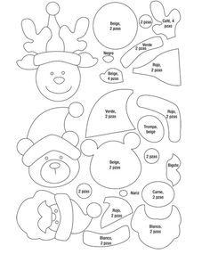 Best 12 DIY Christmas Poinsettia Felt Wreath « Simple, Sweet, and Southern – SkillOfKing.Com – SkillOfKing. Christmas Ornament Template, Christmas Templates, Christmas Projects, Felt Crafts, Christmas Crafts, Felt Christmas Decorations, Felt Christmas Ornaments, Christmas Poinsettia, Christmas Diy