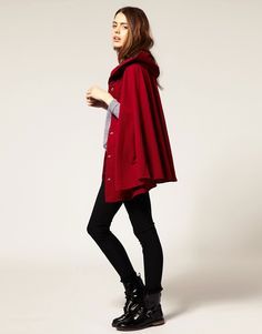 Image 4 - American Apparel - Cape en polaire