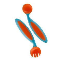 Boon Benders Adaptable Utensils, (baby spoons, baby spoon, feeding, utensils, feeding your baby, toddler, spoon, boon, baby, toddler spoons)