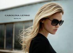 Bar Refaeli is the face of the Carolina Lemke sunglasses campaign