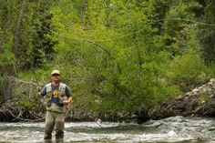 Fly Fishing in Sun Valley, Idaho #summer #activities
