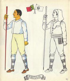 Jolis Costumes: Album a Decouper, Composer, Colorier / eurocolor p15: Portugal | Flickr - Photo Sharing!