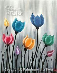 Acrylic-Painting-Techniques-For-BeginnersYou can find Simple acrylic paintings and more on our website.Acrylic-Painting-Techniques-For-Beginners Easy Canvas Art, Easy Canvas Painting, Simple Acrylic Paintings, Acrylic Canvas, Diy Painting, Painting Flowers, Simple Flower Painting, Painting Tutorials, Simple Paintings On Canvas