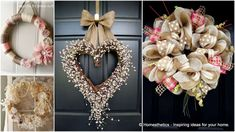 Top 18 Dreamy Shabby Chic Living Room Designs 22 Versatile Shabby Chic Christmas Wreaths That Can Be Used All Year Round Shabby Chic Kranz, Shabby Chic Wreath, Shabby Chic Decor, Shabby Chic Christmas, Modern Christmas, Christmas Diy, Christmas Wreaths, Christmas Villages, Silver Christmas