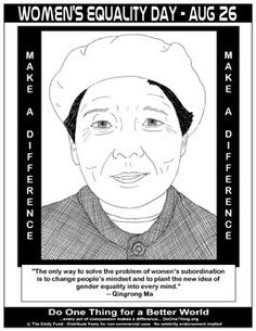What did Qingrong Ma have to say? Click this Women's Equality Day!