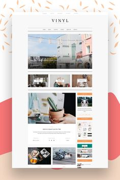 "A Lifestyle WordPress Theme Blog - Fashion Theme - WordPress Travel Blog Theme - ""Vinyl"" Instant Digital Download. You are looking for a WordPress Theme, beautiful, easy to install and use? AZ-Theme would like to introduce you to one of our themes: Vinyl - A Lifestyle WordPress Theme Blog."