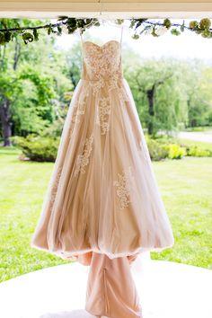 #wedding #dress #porch #champagne