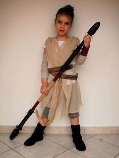 Star Wars Rey Kostüm selber machen   Kostüm-Idee zu Karneval, Halloween & Fasching