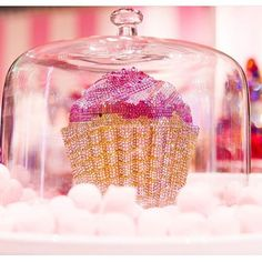 If you have little gift items, like a voucher, a piece of $100.- note or maybe a mobile case, you could present it inside this glass cupcake cover. If it's a gift voucher or money, just wrap it with transparent kitchen foil & stack it on the top of your decorated cupcake or cake. Pls visit  We~Ivy's Art BootH https://pinterest.com/weivyARTBOOTH to find more & shop gift ideas.